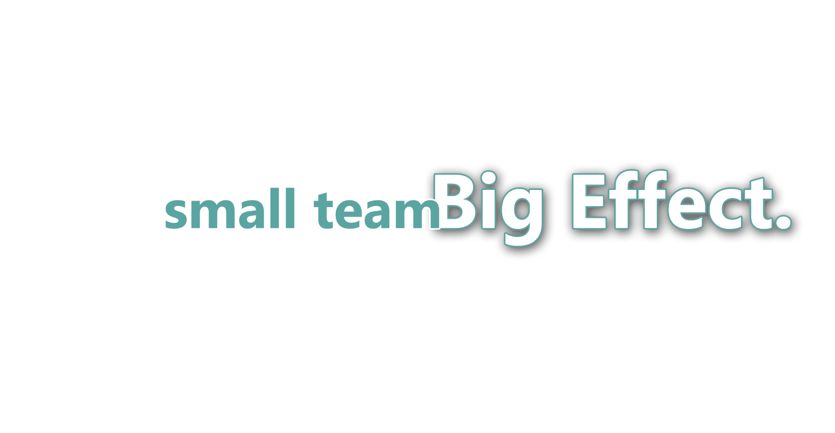 small team big effect web design company